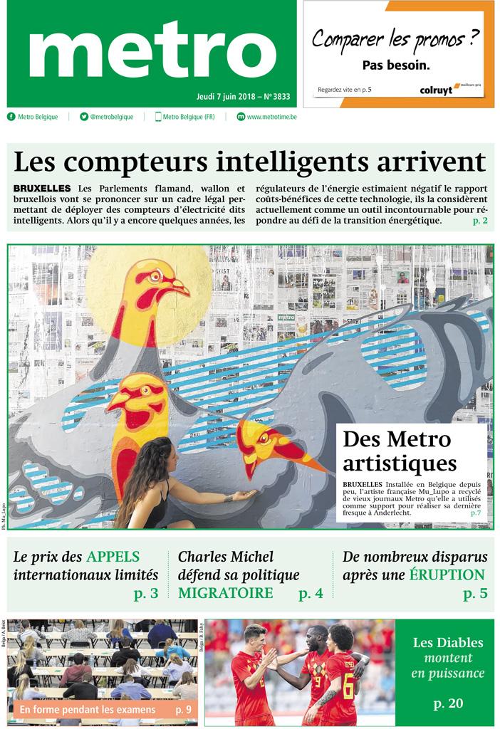 journal métro street art